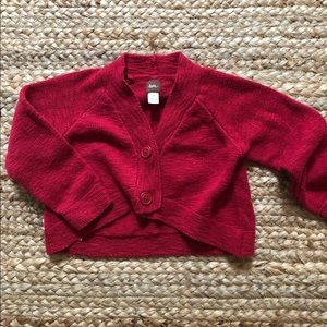 Tea Collection Cropped Cardigan
